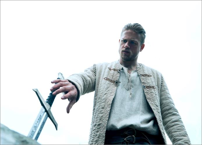 King Arthur- reaching for the sword